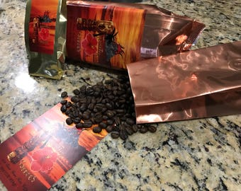 100% Kona Coffee Dark roast whole bean