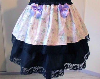 Unicorns and Rainbow skirt