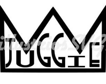 Juggie Crown SVG image