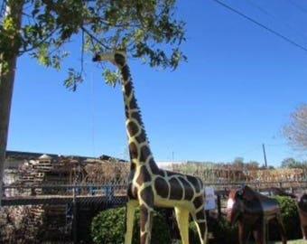 Recycled Metal 10' Giraffe ~ Custom Order