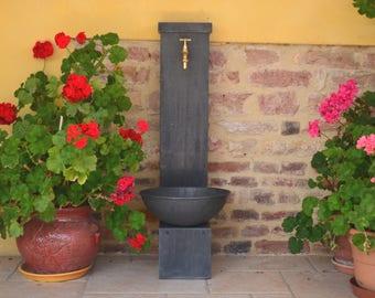 Zinc EYELET 0.8 Misterzinc garden fountain