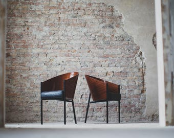Philippe Starck COSTES 1987 set of completly renovated chairs