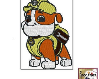 Embroidery file format: Mike Pat' patrol