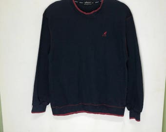 Rare!!! Kangol Pullover Spellout Small Logo Embroidered