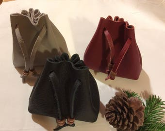 Pouch/ leather pouch/traditional leather pouch