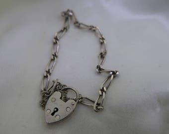 Fine sterling silver chain bracelet for charms