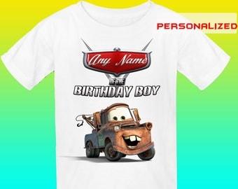Anyname Cars Iron On Transfer, Cars Birthday Shirt Iron On Transfer,Digital File Only, Bithday Boy