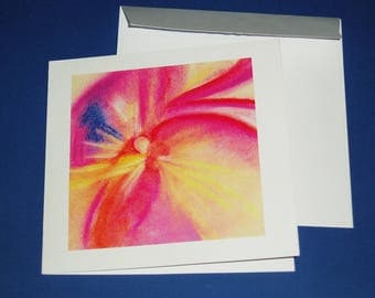 "Greeting card 2015 ""hope"" with envelope"