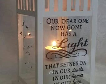 Our Dear One Memorial Lantern