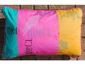 SALE - Piped Cushion with pad