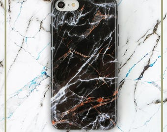 iPhone 8 Marble Case, iPhone 7 Soft TPU Protective Case