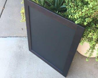 Maple wood framed chalkboard