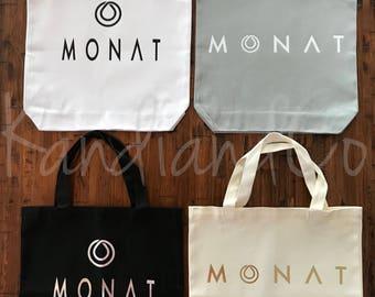 Monat Tote Bag *Monat Swag Bag* Monat Bag