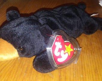 Blackie 1993 Original Beanie Baby