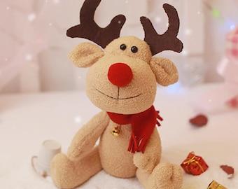 DIY Kit Reindeer Fabric Doll Animal