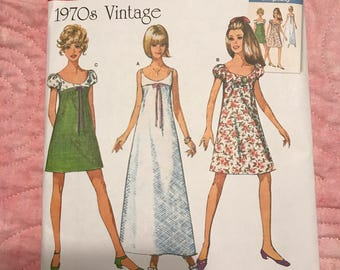 Simplicity pattern 8126, misses' dress (Preowned by designer)