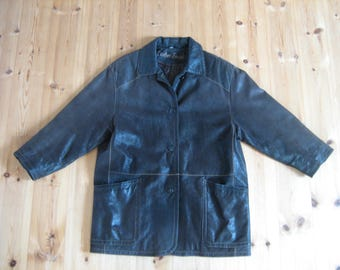 vintage genuine leather jacket in top condition
