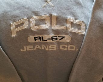 Polo Jeans Co. Ralph Lauren Crew Neck Sweater