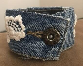 Denim 626 Cuff Bracelet