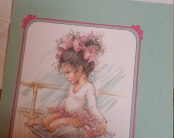 Vintage Stationery Collection ~ Ballet Dancing Girl Stationery Collection
