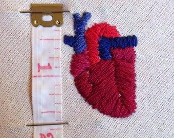 "Anatomical Heart - 3"" hoop"