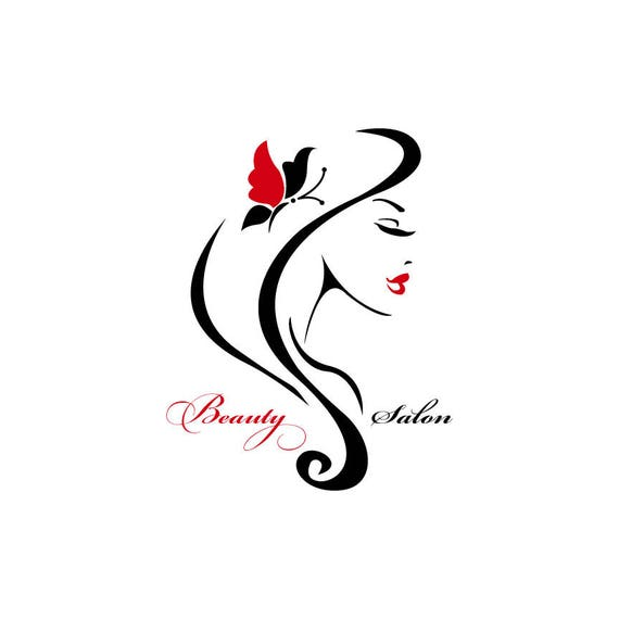 Beauty Logo Design, Woman Logo, Hairstylist Logo, Logo