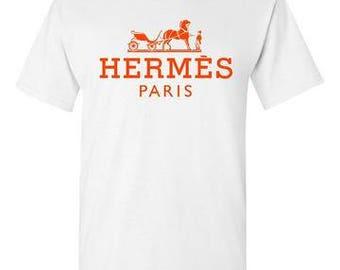 Hermes Paris White T-Shirt