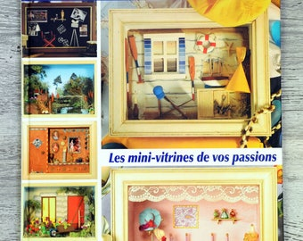 Book showcases Passion - Mini-vitrines of your passions