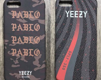 Yeezy Pablo beluga Custom Phone Cases apple iPhone 6 | iPhone 6s Plus | iphone 7 | iphone 7 plus | iphone 8| iphone 8 Plus boost 350 sneaker