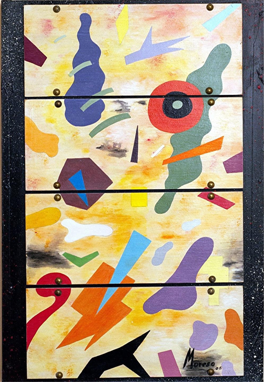 Peinture sur contreplaqu clou sur panneau bois for Peinture pour contreplaque