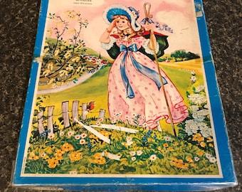 Vintage Puzzle Little Bo Peep