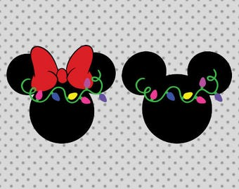 Mickey SVG, Minnie svg, Mickey Christmas svg, Minnie Christmas svg, Disney svg, Disney christmas svg, mickey minnie cricut, Mickey svg
