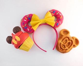 Donut and Sprinkles Disney Inspired Ears