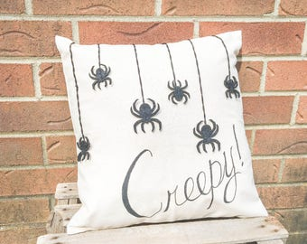 Creepy Spider Pillow FREE SHIPPING