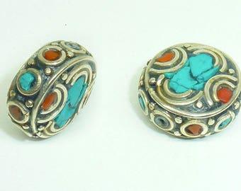 Ethnic Nepalese bead PE566