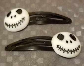 Nightmare before Christmas Hair Clips