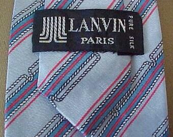 Lanvin Paris Silk Tie ZERO SHIPPING