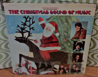 The Christmas Sound of Music LP Record-BF Goodrich Promo