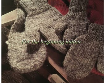 PDF Knit Family Mittens