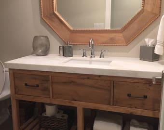 Solid Oak Bathroom Vanity