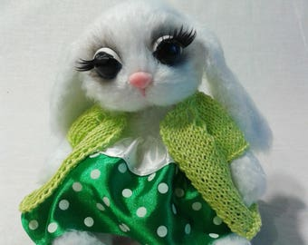 """Bunny """"Goroshinka"""", a gift, a souvenir"""