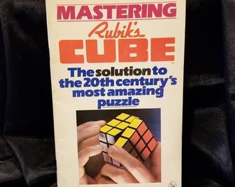 Mastering Rubik's Cube book
