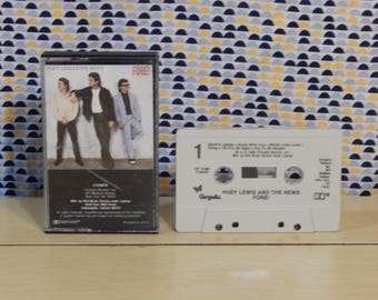 Huey Lewis and The News - Fore! - Cassette tape