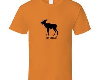Got Moose Orange Men's or Women's T-Shirt