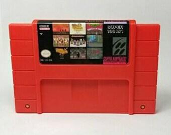 SNES 100 Game in 1 Cart NTSC/USA (Featuring Hagane , Mega Man 7, Ultimate Mortal Kombat, Ninja Turtles Turtles In Time and many more games)