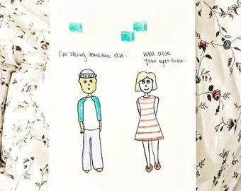 Crazy Girlfriend Doodle