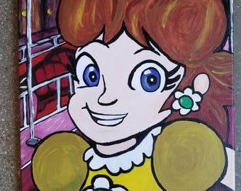 Princess Daisy At The Club