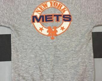 Vintage 80s New York Mets Sweatshirts
