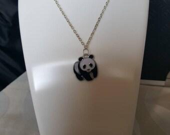 Panda necklace/keyring