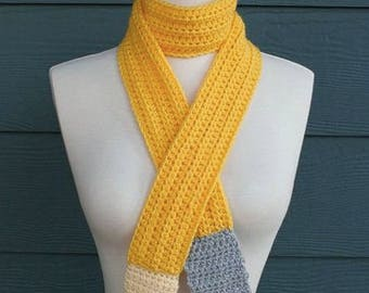 Cute and Fun Pencil Scarf, Warm Gifts, Teacher Gifts, End of School